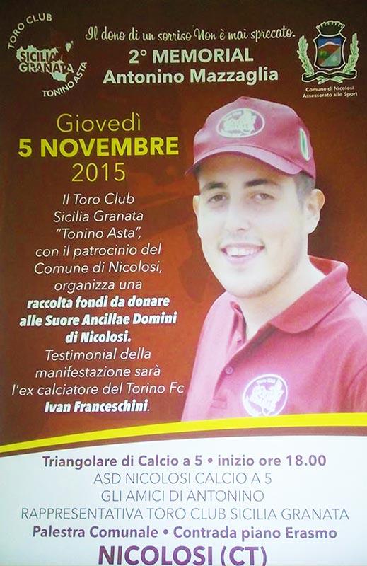 Memorial Antonino Mazzaglia 2015