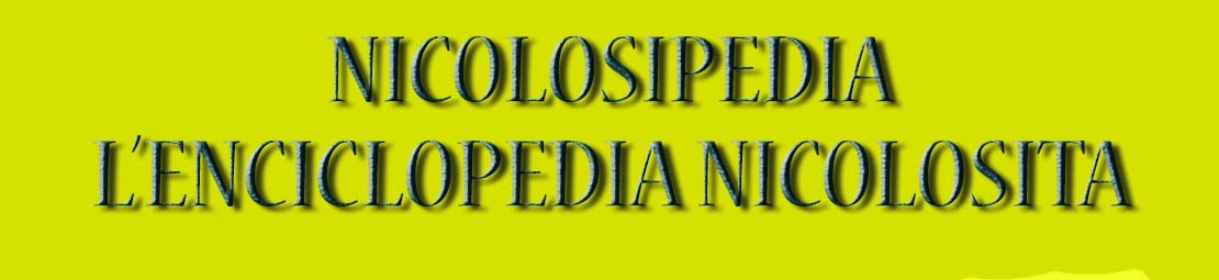 NicolosiPedia – L'enciclopedia nicolosita