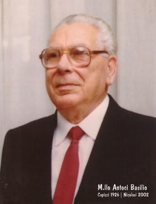 Maresciallo Basilio Antoci